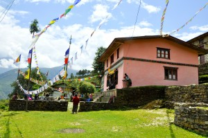 BUDDHIST MONASTERY OF YARMASING VILLAGE